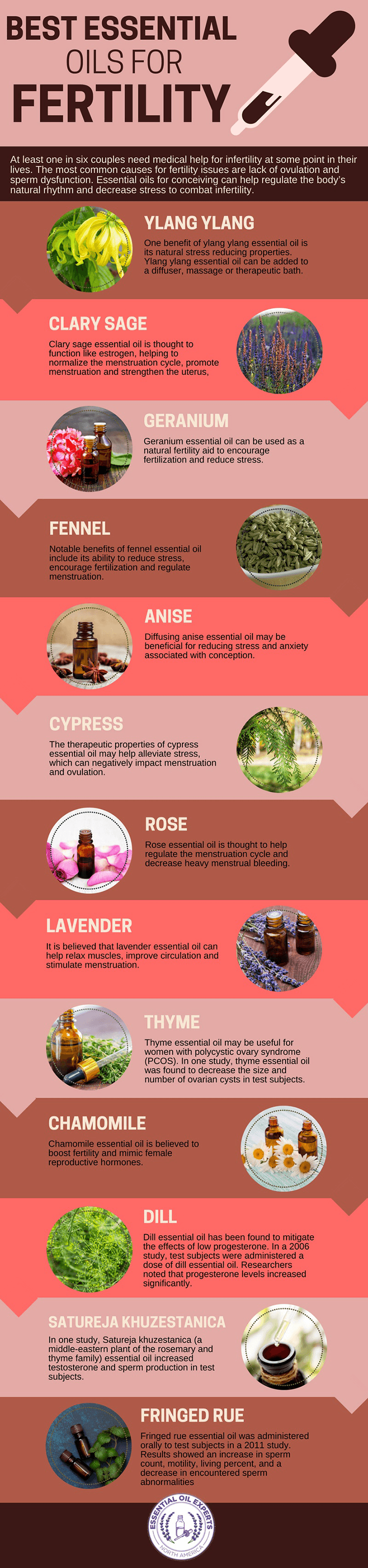 13 Best Essential Oils for Fertility | EssentialOilExperts.com
