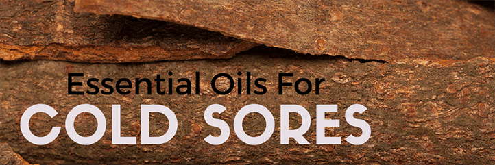 The most effective essential oils for cold sores and how to reduce symptoms of herpes with the best cold sore remedy.