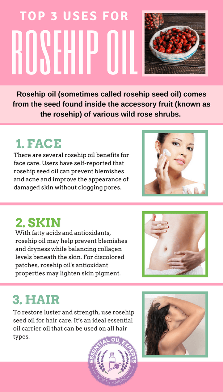 Rosehip Oil Benefits And Uses For Face Skin Hair Amp Where