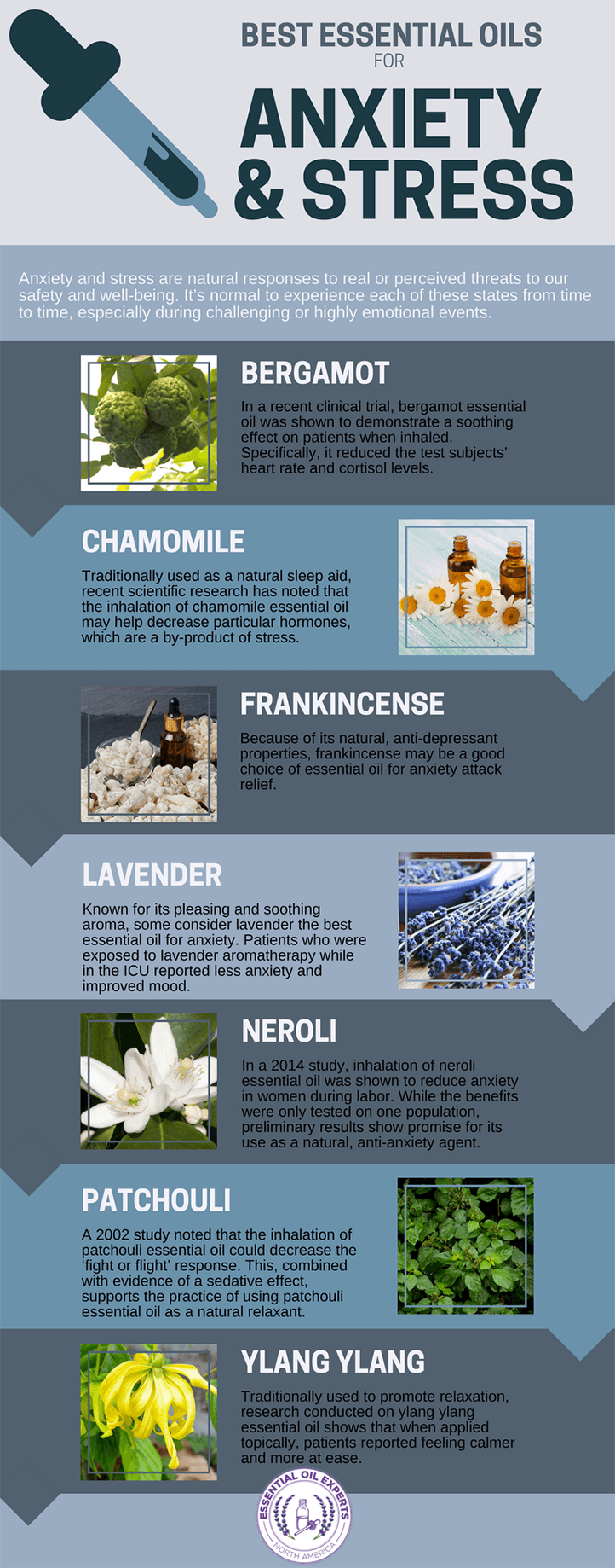 essential oils for anxiety and stress, best essential oils for anxiety