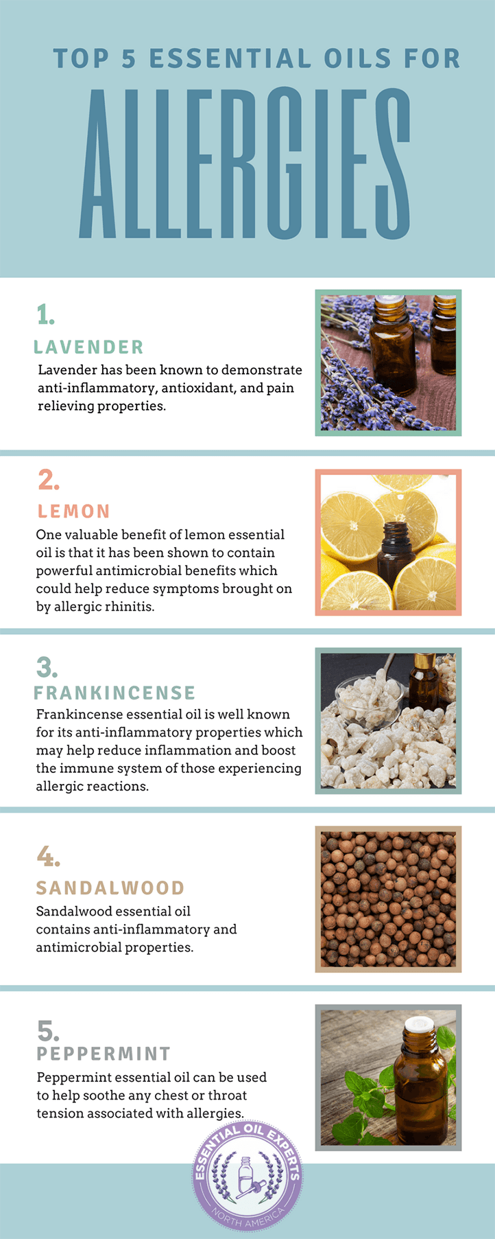 essential oil recipe for allergies